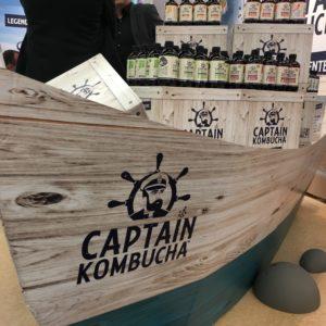 Eine neue Kombucha-Marke auf der Biofach 2018: Captain Kombucha